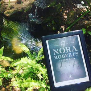 fotos e livros a pedra pagã nora roberts blog leitora compulsiva