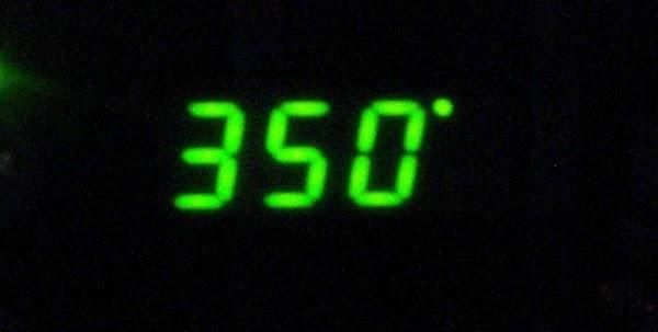 Preheat 350 degree oven.