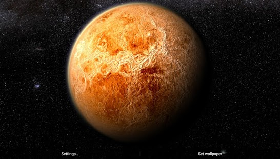 3d Parallax Weather Live Wallpaper Venus In Hd Gyro 3d Free Android Apps On Google Play
