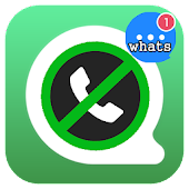 Call Chat Block for whatsapp