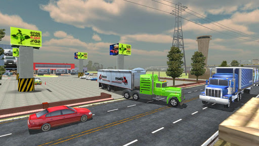 Highway Cargo Truck Transport Simulator  captures d'écran 2
