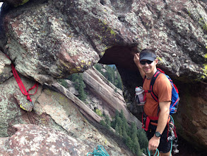 Photo: An arch on the top of The Morning After (5.7)