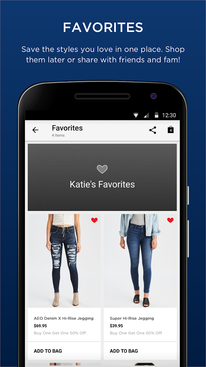 AEO|Aerie: Jeans, Dresses, Swimsuits & Bralettes Android 2
