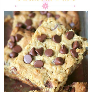 Delish Chocolate Chip Peanut Butter Oatmeal Bars.