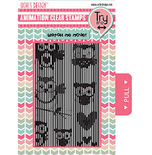 Uchi´s Animation Clear Stamps & Grid Set - Owls