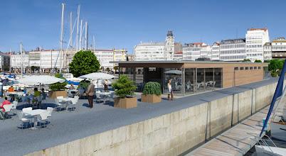 Photo: Marina Real, la marina del RCN en La Coruña