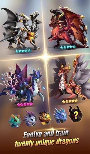 Dragon Epic - Idle & Merge - Arcade shooting game screenshots 3