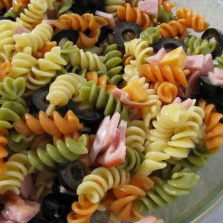 Mardi Gras Muffuletta Pasta Salad