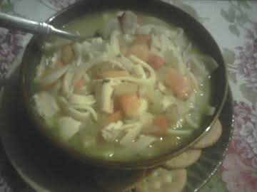 Chicken Noodle Soup My Way