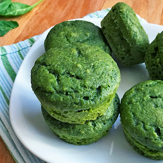 Sweet Spinach Muffins.