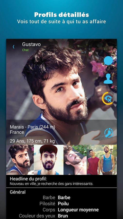 ROMEO - chat et rencontres gay - Applications Android sur