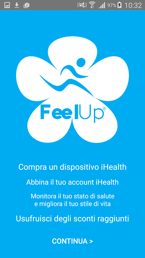 FeelUp- screenshot