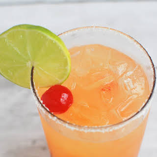 Tequila Sunrise Margarita.