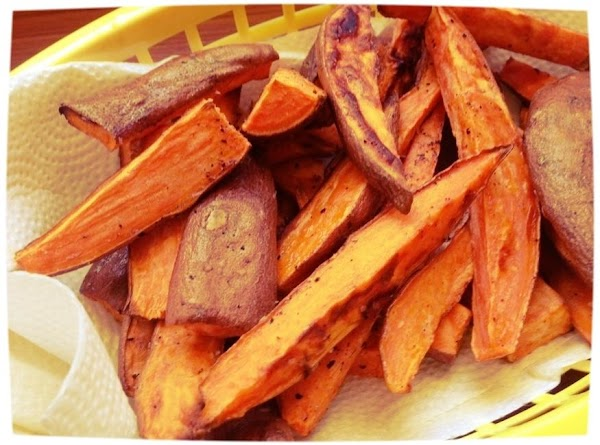 Savory Sweet Potato Fries Recipe