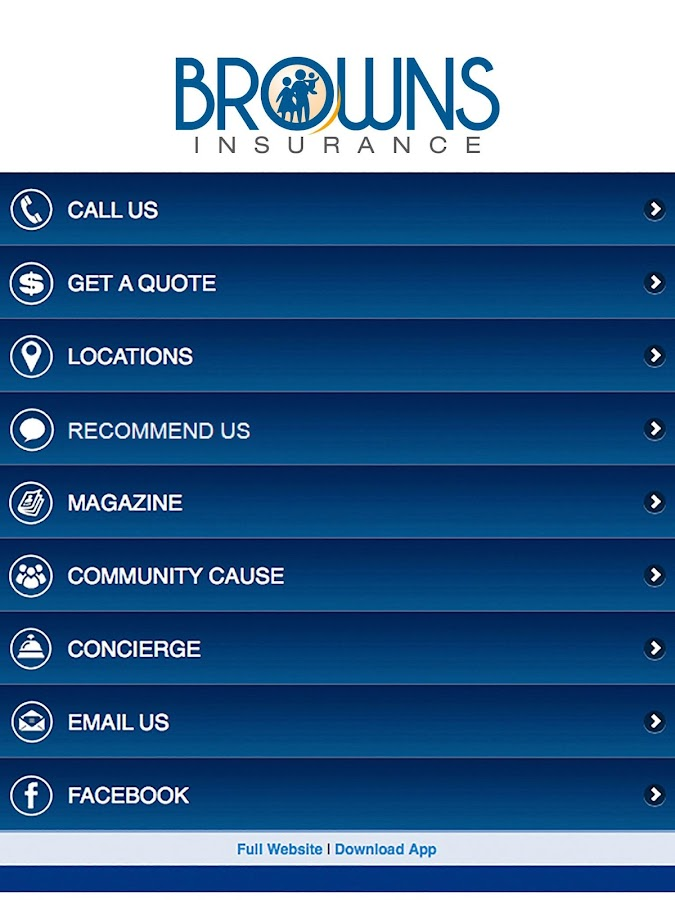 Browns Insurance Agency- screenshot