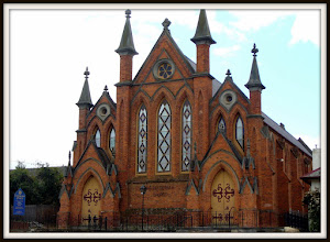 Photo: The Presbyterian Church in Castlemaine Victoria Australia is of brick construction in the Gothic style and it is widely said to be the best example of its kind in Victoria. It was built in 1861-62 and is a testament to the wealth of the Victorian goldfields at that time. My contribution for #SacredSunday curated by +Charles Lupica and +Sumit Sen