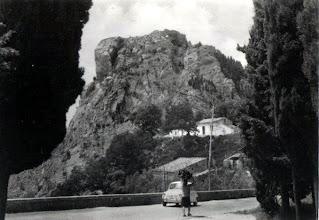 Photo: Scorcio del castello dall'ex convento Collezione Eugenia Pagliaro