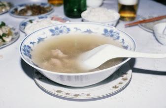 Photo: 10935 上海/ホテル/朝食/スープ