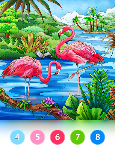 Coloring Fun : Color by Number Games 2.9.7 screenshots 9