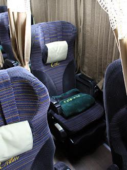 西日本JRバス「グラン中央ドリーム140号」 2053 シート