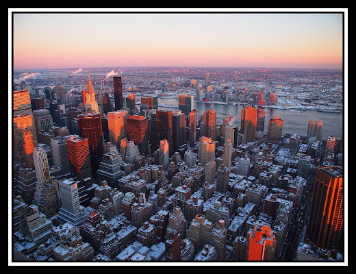 New York dall'Empire State Building di robypsycho
