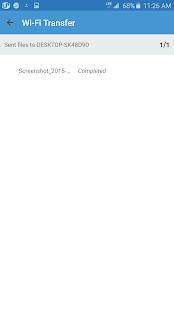 Wi-Fi Transfer Screenshot 4