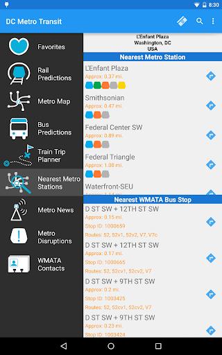 DC Metro Transit Info - Free screenshot 22