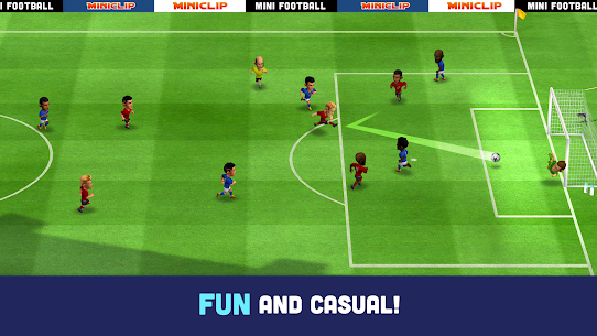 Mini Football – Mobile Soccer (MOD, Unlimited Money) 1