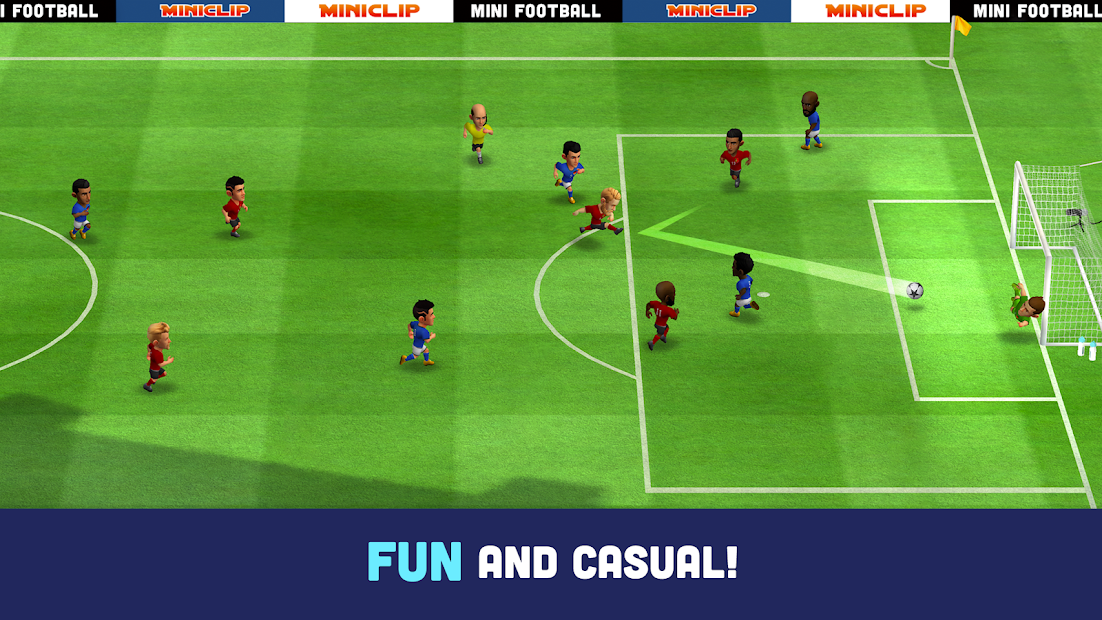 Mini Football - Mobile Soccer Android App Screenshot