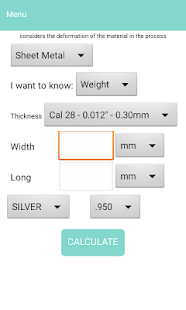 Jewelry Calculator- screenshot thumbnail