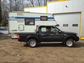 Photo: Diese ECO 200 aus 2000 ist nun auf einem Ford Ranger Doka unterwegs. Infos zur Eco 200 finden Sie hier: http://www.nordstar.de/nordstar-modelle/eco-200/index.html
