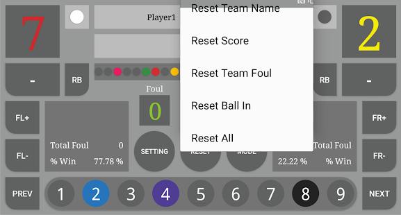 Download Scoreboard : Nine Ball For PC Windows and Mac apk screenshot 4