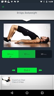 Home Workouts Personal Trainer Screenshot