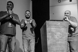 Photo: Los tres magníficos artífices de Naukas, más Jose Cuesta, que no pudo venir. ¡Muchas gracias por todo, chicos!