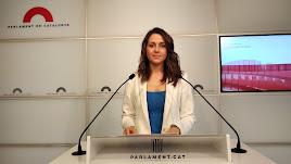 La diputada catalana por Ciudadanos Inés Arrimadas.