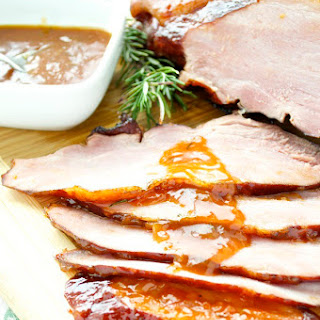 Apricot and Riesling Glazed Ham Recipe