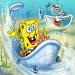 Sponge-bob Bath Time Racing icon