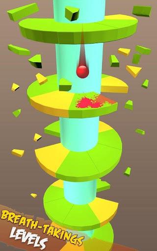 Spiral Balls Love Jump  captures d'écran 4