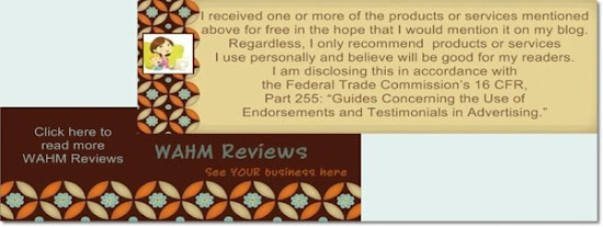Click here for more WAHM Reviews