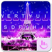 App Night Eiffel Tower Keyboard Theme APK for Windows Phone