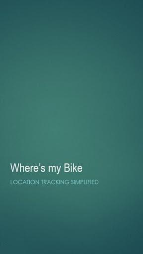 Where's My Bike Free