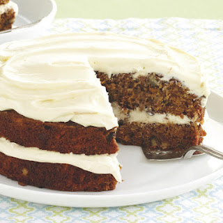 Sweet Potato Cake with Orange Frosting