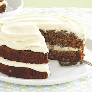 Sweet Potato Cake with Orange Frosting.