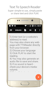 TTSReader Pro - Text To Speech Screenshot