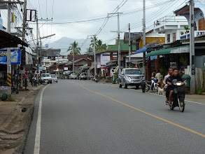 Photo: road Mae Hong Son to Mae Sariang - Khun Yuam main road