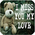 I miss you my love, beautiful quotes and images icon