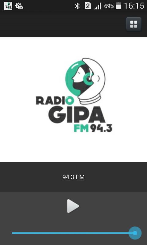 Radio GIPA- screenshot