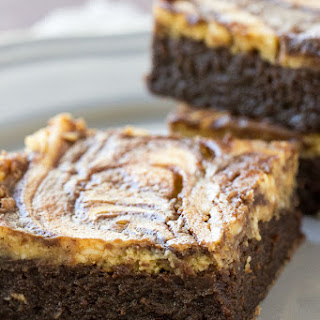 Flourless Pumpkin Cheesecake Brownies.