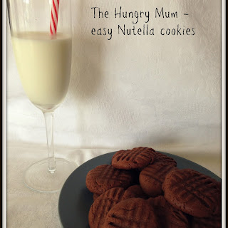 Easy Three Ingredient Nutella Cookies Recipe