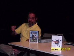 Photo: Victor Leali, en la presentacion de La Tierra Habla
